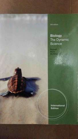 Biology The Dynamic Science 3rd edition textbook for sale