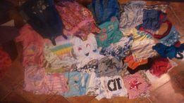 zestaw paka dla dziewczynki 2-4lata 30szt sukienki swetry tuniki kurtk