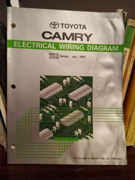 Camry, electrical wiring diagram