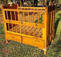 Image of Antique Yellow Wood Cot
