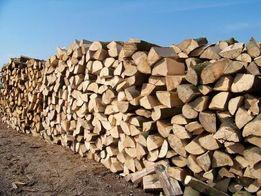 Drewno kominkowe : buk , grab , dąb , jesion - sezonowane