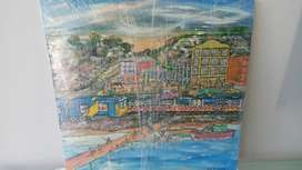 Painting of Kalkbay