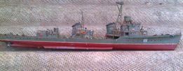 Редкость:модель военного корабля времëн ссср,100% металл,длинна 60см
