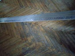 Новый перфорированный алюминиевый уголок 25*25 длина 3 метра