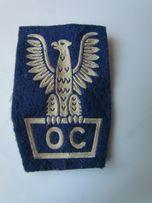 Naszywka OC Obrona Cywilna