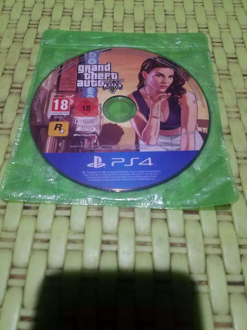 GTA_V  CD for PS4 0