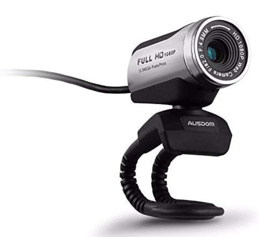 Ausdom 1080p hd usb webcam network camera with microphone for pc 0