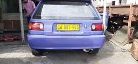 Toyota Tazz 20v project car