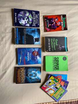 A variety of books