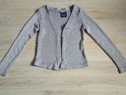 Sweterek srebrny 104/110
