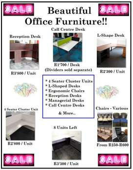 !! Beautiful Office Furniture Sale !!