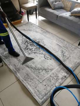 Deep cleaning of carpets in Gauteng with affordable prices.
