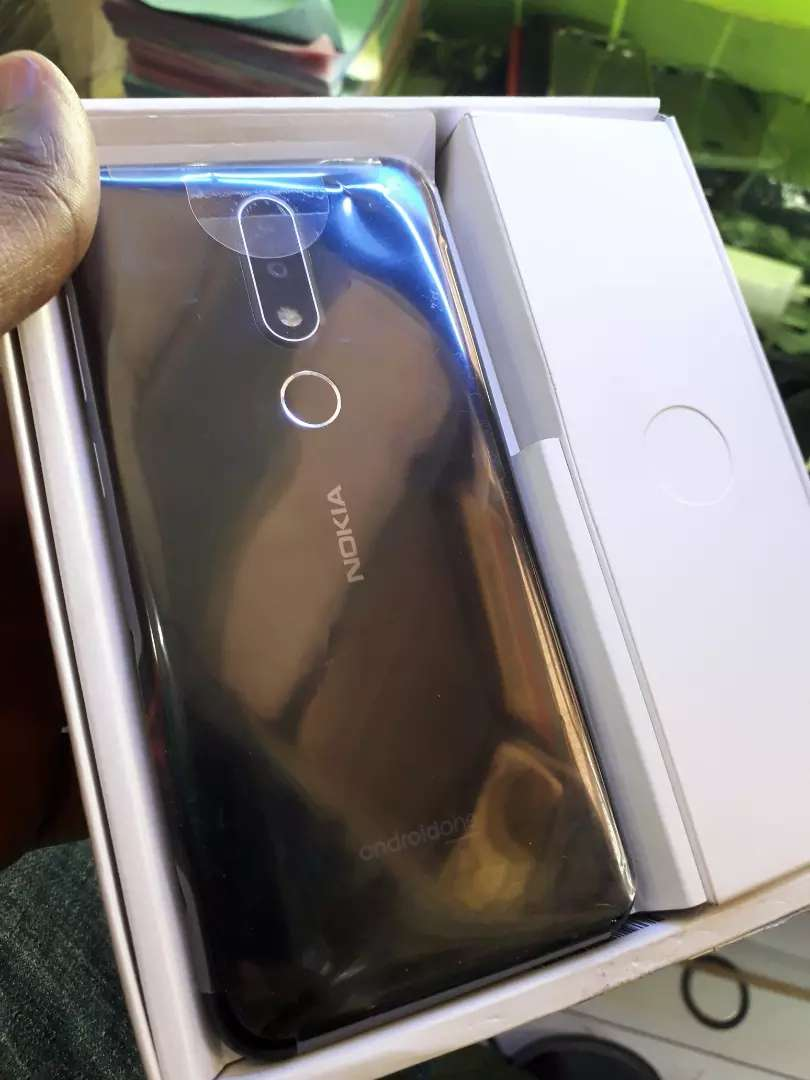 Nokia lastest 6.1 plus 64gb new with box and accessories 0