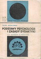 T. Sosnowski, Podstawy psychologii i zasady dydaktyki dla mistrzów...