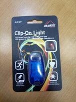 LED индикатор маяк на клипсе
