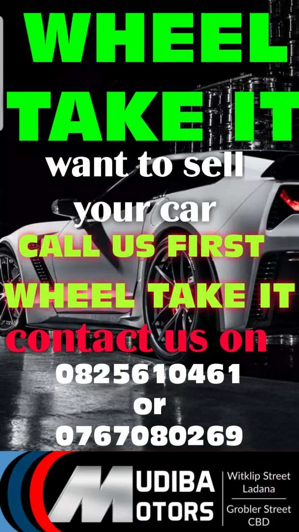 We will pay you cash for your car or bakkie 0