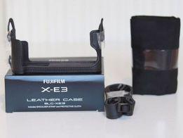 Кожаный оригинальный чехол FUJIFILM BLC-XE3 для X-E3 16563913   Новый