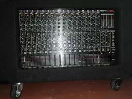 Roland M16 E mixer with extras for serious buyers