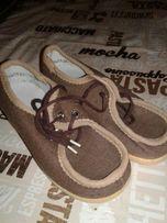 Обувь детская ботиночки СССР текстиль новые размер 29