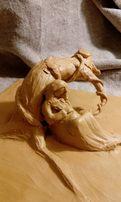 Скульптура із пластіліну навчальна