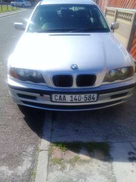 Clean e46Bmw318i with black leather interior .Lady owner.very reliable