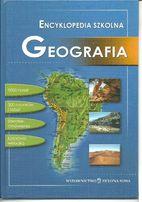 """Jackowski """"Encyklopedia Szkolna Geografia"""" + tablice geograficzne"""