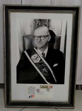 1st SA President CR Swart Official Photo with original signed FDC
