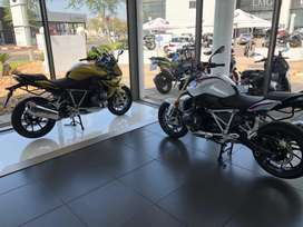 Brand new 2019 BMW R1250RS and R1250R