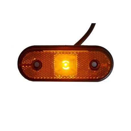 Lampa obrysowa LED ledowa obrysówka pomarańczowa bus przyczepka Częstochowa - image 2