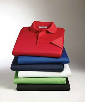 Golf shirts supply and printing/embroidery