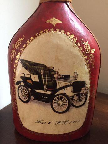 Butelka ozdabiana skora, Fiat 8 HP, 1901, antyk, kolekcjonersk Aleksandrów Łódzki - image 5