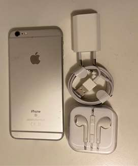 Apple Iphone 6s plus (silver) 32gig