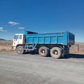 Tipper truck for sale or for hire