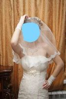 Офигенное свадебное платье!