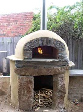 WOOD PIZZA OVEN and BRAAI PLACE