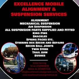 Excellence Mobile Alignment & Suspension Services