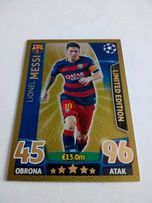 Karta limited MESSI GOLD z champions league 2015/16