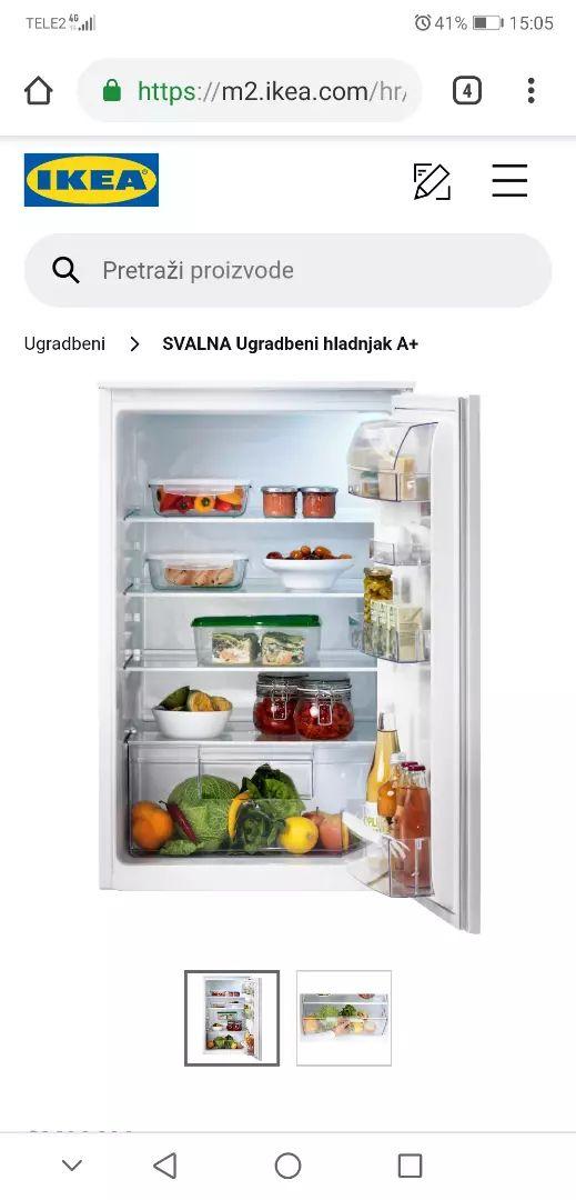Ugradbeni hladnjak Svalna / Ikea 0