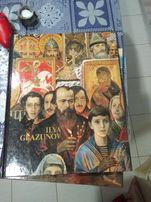 Продам книги с репродукциями Ильи Глазунова на английском языке