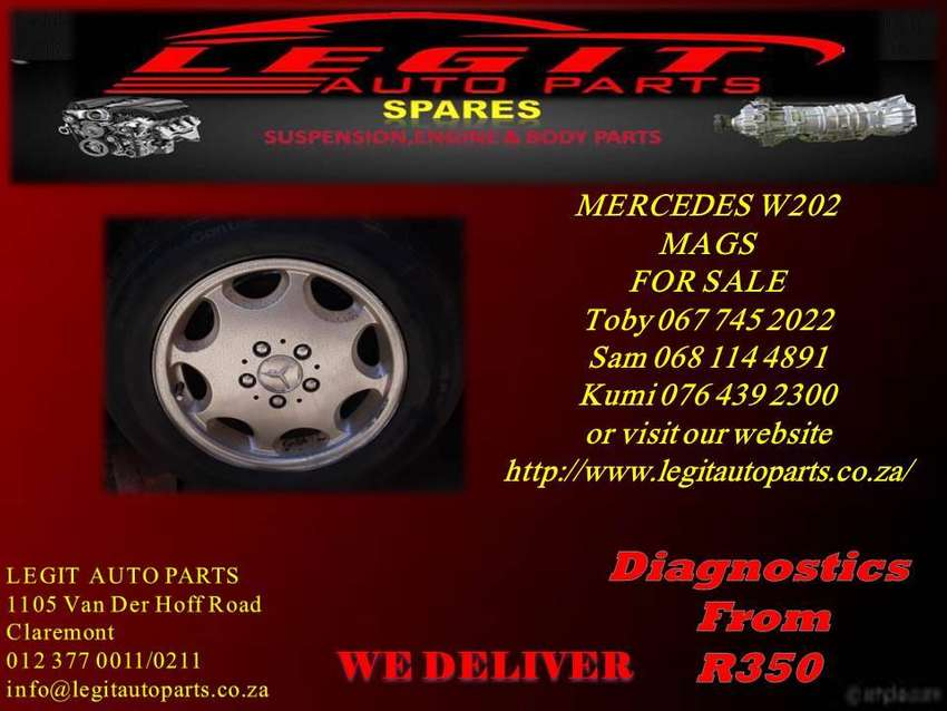 MERCEDES W202 MAGS FOR SALE 0