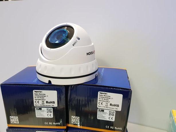 Kompletny Zestaw Monitoringu 4 kamer sieciowych IP POE + rejestrator P Szczecin - image 2
