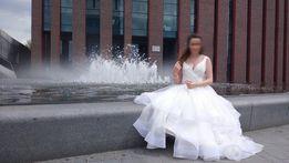 Suknia Ślubna - model szyty na zamówienie ROZMIAR M