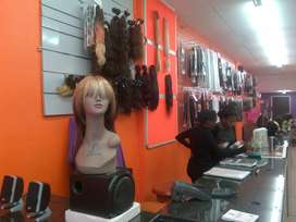 Hair Piece Retail Shop to Rent