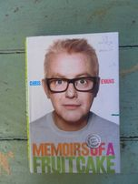 "Книга на английском Chris Evans ""Memoirs of a Fruitcake"""