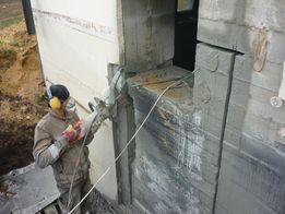 Демонтаж Бетона. Алмазная резка бетона. Резка стен.Демонтажные работы