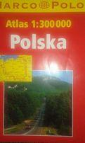Atlas samochodowy Polski Marco Polo 1:300000