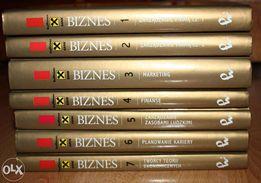 Kolekcja Biznes tomy od 1 do 4 oraz tom 7