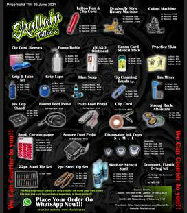 Skullait Tattoo Supplies and Consumables