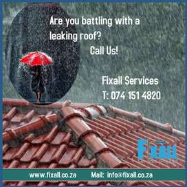 Excellent waterproofing by Fixall Services in Pinetown/Durban North ar