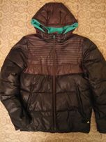 Дутая теплая куртка ADIDAS